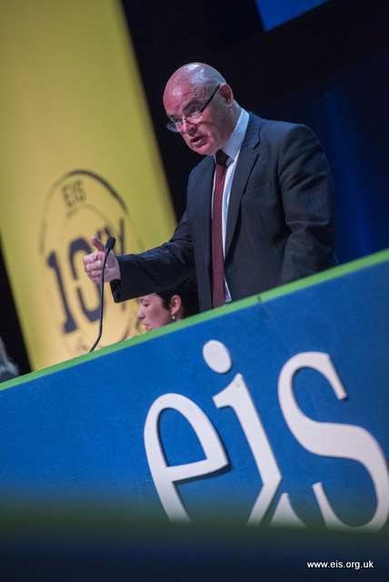 EIS General Secretary Addressing the AGM