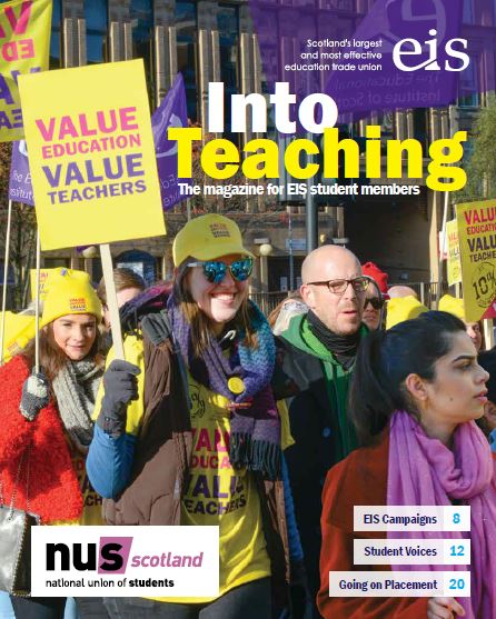 Into Teaching Magazine Cover