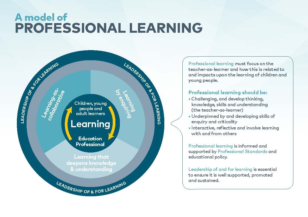 continuing professional development learning to think thinking to learn continuing professional development in education a scottish approach
